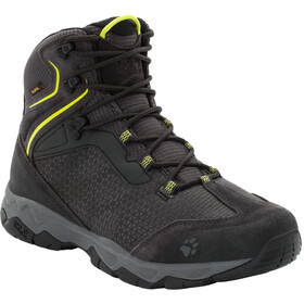 Jack Wolfskin Rock Hunter Texapore Chaussures Homme, lime green